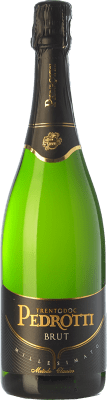 26,95 € Free Shipping | White sparkling Pedrotti Brut 2011 D.O.C. Trento Trentino Italy Pinot Black, Chardonnay Bottle 75 cl. | Thousands of wine lovers trust us to get the best price guarantee, free shipping always and hassle-free shopping and returns.