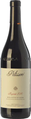 14,95 € Free Shipping | Red wine Pelissero Augenta D.O.C.G. Dolcetto d'Alba Piemonte Italy Dolcetto Bottle 75 cl