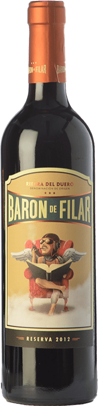 15,95 € Free Shipping   Red wine Peñafiel Barón de Filar Reserva D.O. Ribera del Duero Castilla y León Spain Tempranillo, Merlot, Cabernet Sauvignon Bottle 75 cl