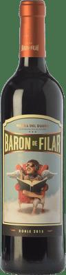9,95 € Free Shipping | Red wine Peñafiel Barón de Filar Roble D.O. Ribera del Duero Castilla y León Spain Tempranillo, Merlot, Cabernet Sauvignon Bottle 75 cl