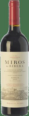12,95 € Free Shipping | Red wine Peñafiel Miros Roble D.O. Ribera del Duero Castilla y León Spain Tempranillo, Merlot, Cabernet Sauvignon Bottle 75 cl