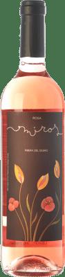 8,95 € Kostenloser Versand | Rosé-Wein Peñafiel Miros Rosa D.O. Ribera del Duero Kastilien und León Spanien Tempranillo, Merlot, Cabernet Sauvignon Flasche 75 cl