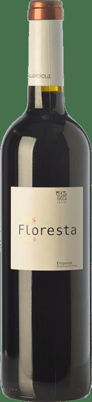 13,95 € Free Shipping | Red wine Pere Guardiola Clos Floresta Reserva D.O. Empordà Catalonia Spain Syrah, Grenache, Cabernet Sauvignon Bottle 75 cl