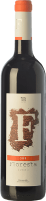 7,95 € Free Shipping | Red wine Pere Guardiola Floresta 3B8 Reserva D.O. Empordà Catalonia Spain Merlot, Syrah, Grenache, Mazuelo Bottle 75 cl