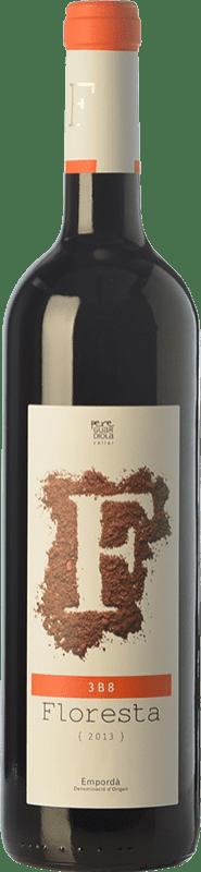 8,95 € Free Shipping | Red wine Pere Guardiola Floresta 3B8 Reserva D.O. Empordà Catalonia Spain Merlot, Syrah, Grenache, Mazuelo Bottle 75 cl