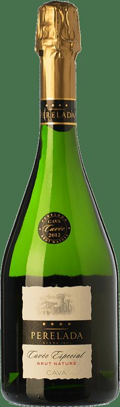 9,95 € Envio grátis | Espumante branco Perelada Cuvée Especial Brut Nature D.O. Cava Catalunha Espanha Macabeo, Xarel·lo, Chardonnay, Parellada Garrafa 75 cl