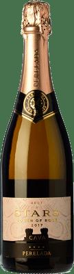 7,95 € Kostenloser Versand | Rosé Sekt Perelada Stars Touch of Rosé Brut D.O. Cava Katalonien Spanien Grenache, Pinot Schwarz Flasche 75 cl