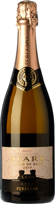 7,95 € Free Shipping | Rosé sparkling Perelada Stars Touch of Rosé Brut D.O. Cava Catalonia Spain Grenache, Pinot Black Bottle 75 cl