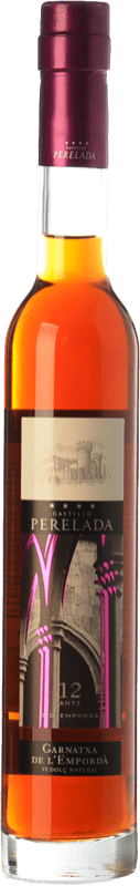16,95 € Free Shipping | Sweet wine Perelada Garnatxa 12 Anys D.O. Empordà Catalonia Spain Grenache White, Grenache Grey Half Bottle 37 cl