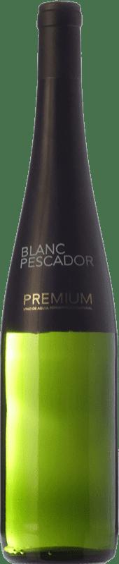 7,95 € Free Shipping | White wine Perelada Blanc Pescador Premium Crianza D.O. Empordà Catalonia Spain Xarel·lo, Chardonnay Bottle 75 cl