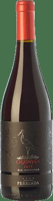 8,95 € Free Shipping | Red wine Perelada Cigonyes Joven D.O. Empordà Catalonia Spain Syrah, Grenache Bottle 75 cl