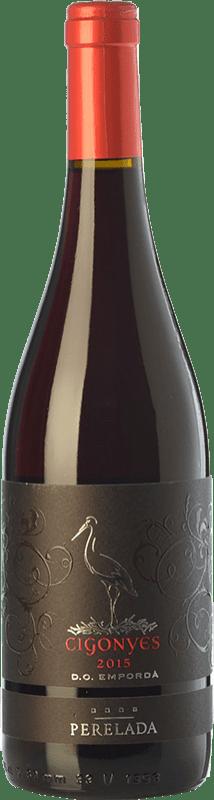 7,95 € Free Shipping | Red wine Perelada Cigonyes Joven D.O. Empordà Catalonia Spain Syrah, Grenache Bottle 75 cl