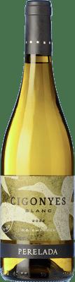 7,95 € Envío gratis | Vino blanco Perelada Cigonyes D.O. Empordà Cataluña España Macabeo, Sauvignon Blanca Botella 75 cl
