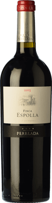 13,95 € Free Shipping | Red wine Perelada Finca Espolla Crianza D.O. Empordà Catalonia Spain Syrah, Grenache, Cabernet Sauvignon, Monastrell, Samsó Bottle 75 cl. | Thousands of wine lovers trust us to get the best price guarantee, free shipping always and hassle-free shopping and returns.