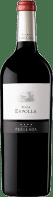 17,95 € Free Shipping | Red wine Perelada Finca Espolla Crianza D.O. Empordà Catalonia Spain Syrah, Grenache, Cabernet Sauvignon, Monastrell, Samsó Bottle 75 cl