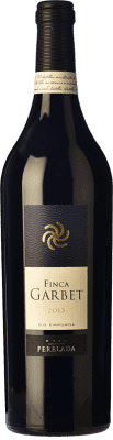 218,95 € Free Shipping | Red wine Perelada Finca Garbet Crianza 2004 D.O. Empordà Catalonia Spain Syrah, Cabernet Sauvignon Magnum Bottle 1,5 L. | Thousands of wine lovers trust us to get the best price guarantee, free shipping always and hassle-free shopping and returns.