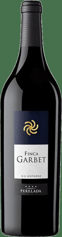 207,95 € Free Shipping | Red wine Perelada Finca Garbet Crianza 2004 D.O. Empordà Catalonia Spain Syrah, Cabernet Sauvignon Magnum Bottle 1,5 L