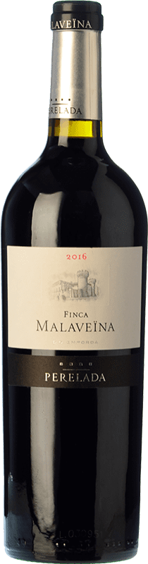 49,95 € Free Shipping | Red wine Perelada Finca Malaveïna Crianza D.O. Empordà Catalonia Spain Merlot, Syrah, Grenache, Cabernet Sauvignon Magnum Bottle 1,5 L