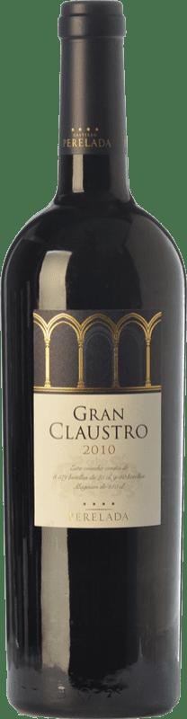 37,95 € Free Shipping | Red wine Perelada Gran Claustro Crianza D.O. Empordà Catalonia Spain Tempranillo, Merlot, Syrah, Grenache, Cabernet Sauvignon Bottle 75 cl