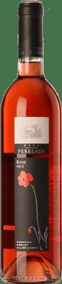 7,95 € Free Shipping | Rosé wine Perelada Joven D.O. Empordà Catalonia Spain Tempranillo, Merlot, Grenache Bottle 75 cl