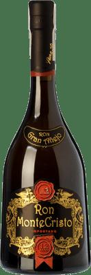 41,95 € Free Shipping | Rum Pérez Barquero Monte Cristo 12 Años Spain Bottle 70 cl