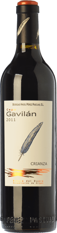 28,95 € Free Shipping | Red wine Pérez Pascuas Cepa Gavilán Crianza D.O. Ribera del Duero Castilla y León Spain Tempranillo Magnum Bottle 1,5 L