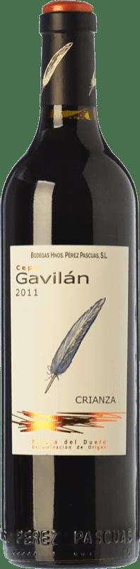 25,95 € Envío gratis | Vino tinto Pérez Pascuas Cepa Gavilán Crianza D.O. Ribera del Duero Castilla y León España Tempranillo Botella Mágnum 1,5 L