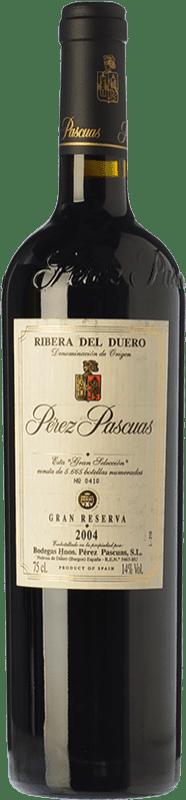 259,95 € Envío gratis   Vino tinto Pérez Pascuas Gran Selección Gran Reserva D.O. Ribera del Duero Castilla y León España Tempranillo Botella 75 cl