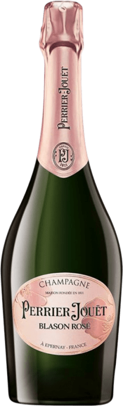 59,95 € Free Shipping | Rosé sparkling Perrier-Jouët Blason Rosé Reserva A.O.C. Champagne Champagne France Pinot Black, Chardonnay, Pinot Meunier Bottle 75 cl