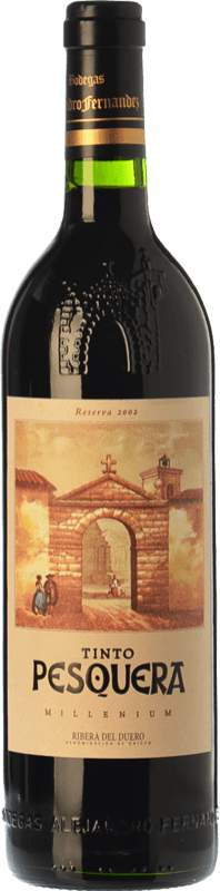 69,95 € Free Shipping | Red wine Pesquera Millenium Reserva 2008 D.O. Ribera del Duero Castilla y León Spain Tempranillo Bottle 75 cl