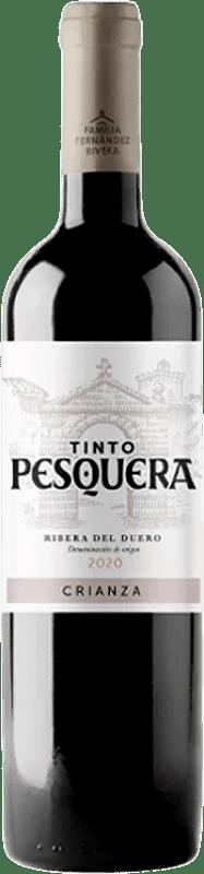 15,95 € Envío gratis | Vino tinto Pesquera Crianza D.O. Ribera del Duero Castilla y León España Tempranillo Botella 75 cl