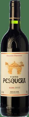 29,95 € Envío gratis | Vino tinto Pesquera Reserva D.O. Ribera del Duero Castilla y León España Tempranillo Botella 75 cl