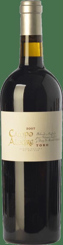 17,95 € Envío gratis | Vino tinto Piedra Negra François Lurton Campo Alegre Crianza D.O. Toro Castilla y León España Tinta de Toro Botella 75 cl