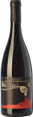 147,95 € Free Shipping | Red wine Pietradolce Rosso Vigna Barbagalli D.O.C. Etna Sicily Italy Nerello Mascalese Bottle 75 cl