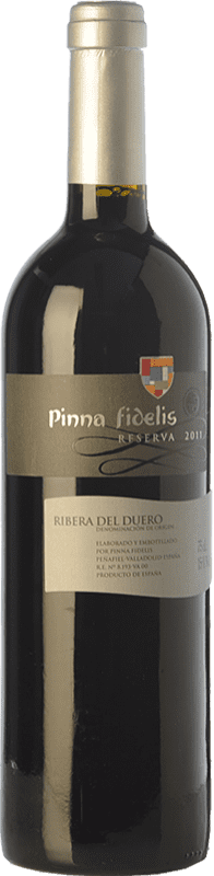 22,95 € Envoi gratuit | Vin rouge Pinna Fidelis Reserva D.O. Ribera del Duero Castille et Leon Espagne Tempranillo Bouteille 75 cl
