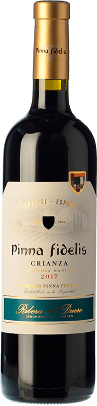 15,95 € Free Shipping | Red wine Pinna Fidelis Crianza D.O. Ribera del Duero Castilla y León Spain Tempranillo Bottle 75 cl