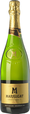 12,95 € Free Shipping | White sparkling Pinord Marrugat Brut Nature Gran Reserva 2011 D.O. Cava Catalonia Spain Macabeo, Xarel·lo, Parellada Bottle 75 cl. | Thousands of wine lovers trust us to get the best price guarantee, free shipping always and hassle-free shopping and returns.