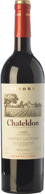 54,95 € Free Shipping | Red wine Pinord Chateldon Reserva 2009 D.O. Penedès Catalonia Spain Cabernet Sauvignon Jéroboam Bottle-Double Magnum 3 L