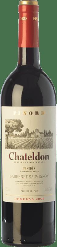 48,95 € Envoi gratuit | Vin rouge Pinord Chateldon Reserva 2009 D.O. Penedès Catalogne Espagne Cabernet Sauvignon Bouteille Jéroboam-Doble Magnum 3 L
