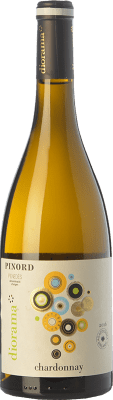 9,95 € Free Shipping | White wine Pinord Diorama D.O. Penedès Catalonia Spain Chardonnay Bottle 75 cl