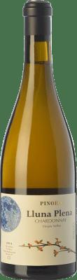 24,95 € Free Shipping | White wine Pinord Lluna Plena Crianza D.O. Penedès Catalonia Spain Chardonnay Bottle 75 cl