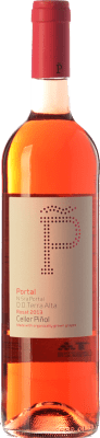 11,95 € Kostenloser Versand | Rosé-Wein Piñol Nuestra Señora del Portal D.O. Terra Alta Katalonien Spanien Syrah, Grenache Flasche 75 cl