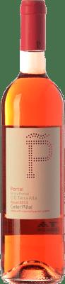 12,95 € Free Shipping | Rosé wine Piñol Nuestra Señora del Portal D.O. Terra Alta Catalonia Spain Syrah, Grenache Bottle 75 cl