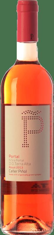 11,95 € Free Shipping | Rosé wine Piñol Nuestra Señora del Portal D.O. Terra Alta Catalonia Spain Syrah, Grenache Bottle 75 cl
