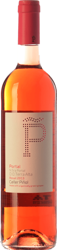 11,95 € Envoi gratuit | Vin rose Piñol Nuestra Señora del Portal D.O. Terra Alta Catalogne Espagne Syrah, Grenache Bouteille 75 cl