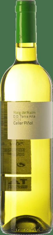 8,95 € Free Shipping | White wine Piñol Raig de Raïm Blanc D.O. Terra Alta Catalonia Spain Grenache White, Macabeo Bottle 75 cl