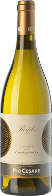 31,95 € Envío gratis | Vino blanco Pio Cesare Piodilei D.O.C. Langhe Piemonte Italia Chardonnay Botella 75 cl