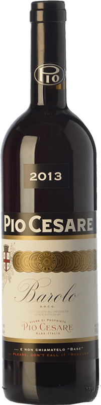 78,95 € Free Shipping | Red wine Pio Cesare D.O.C.G. Barolo Piemonte Italy Nebbiolo Bottle 75 cl