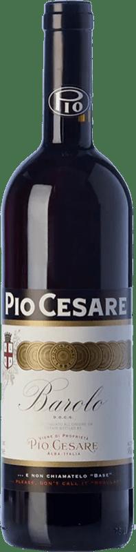 78,95 € Envío gratis | Vino tinto Pio Cesare D.O.C.G. Barolo Piemonte Italia Nebbiolo Botella 75 cl
