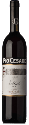 23,95 € Envío gratis | Vino tinto Pio Cesare D.O.C. Langhe Piemonte Italia Nebbiolo Botella 75 cl